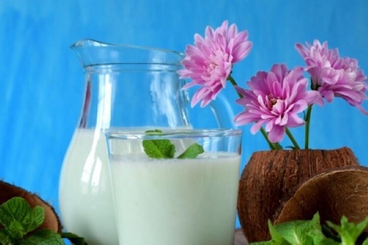 Освежающий кокосово-мятный смузи