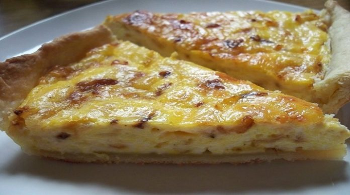 Изумительный сырный пирог