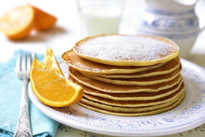 Невероятная вкуснятина - апельсиновые панкейки