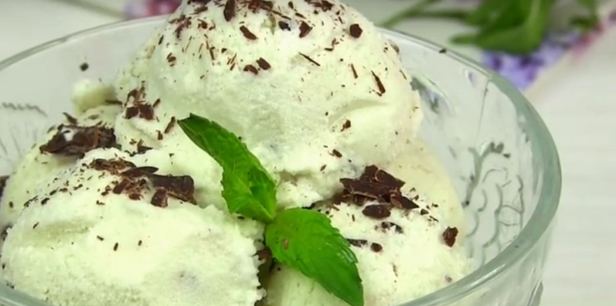 """Мороженое """"Мята-шоколад""""! Насыщенный освежающий вкус"""