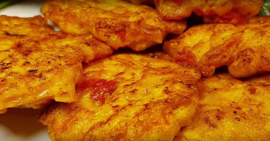 Рубленые котлеты из куриной грудки с начинкой. Очень сочные, мягкие и супер вкусные