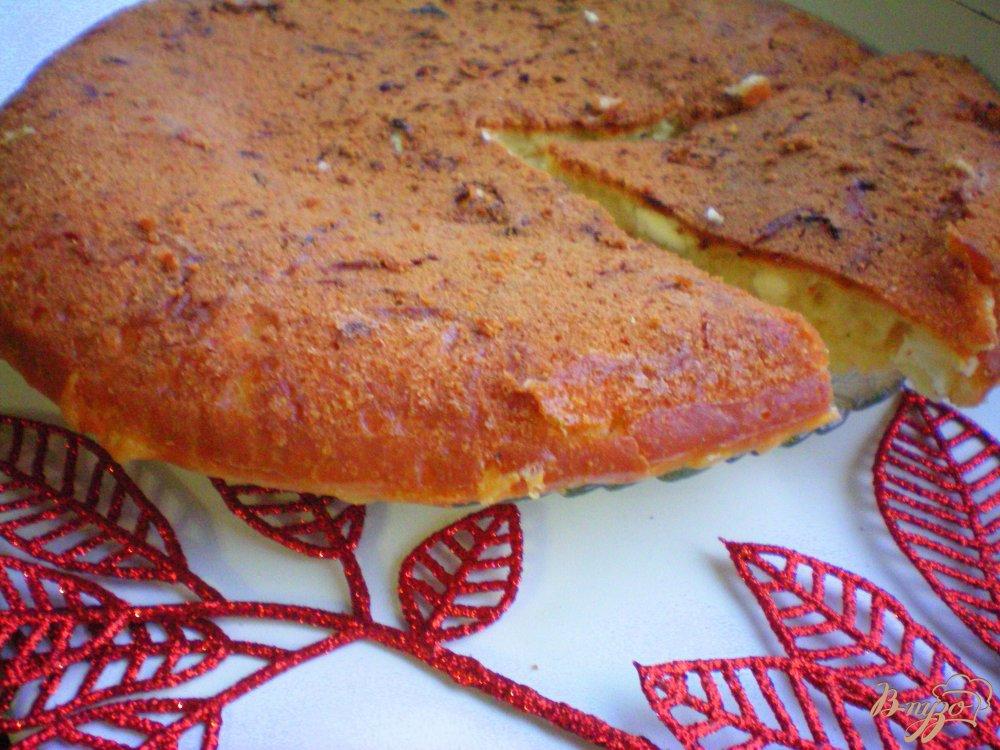 Восхитительный сырный пирог (готовим в мультиварке)