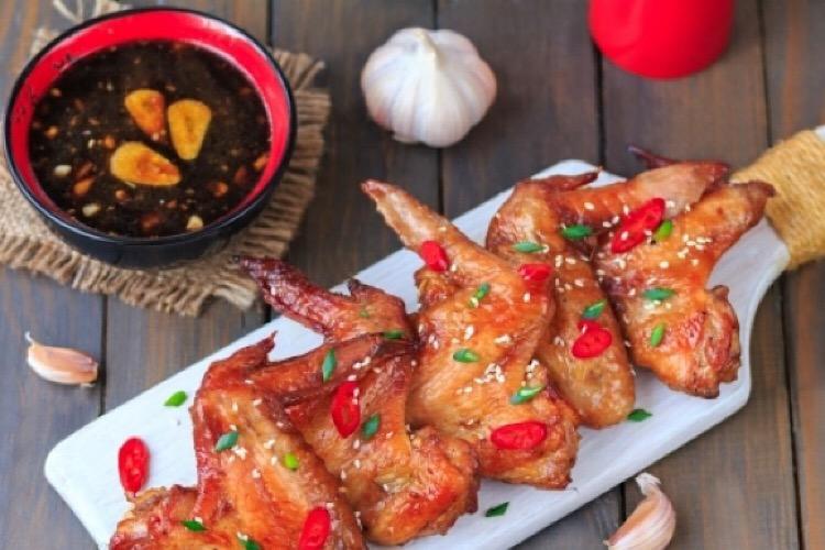Пикантный маринад для курицы с соевым соусом