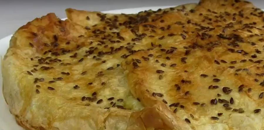 Безумная вкуснота !!! Лёгкий пирог из лаваша с кабачками