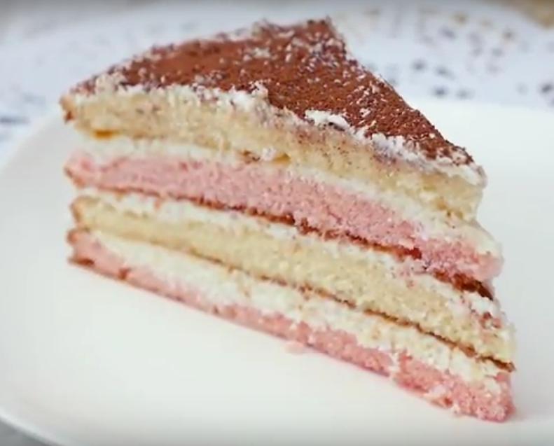 Оригинальный торт из киселя