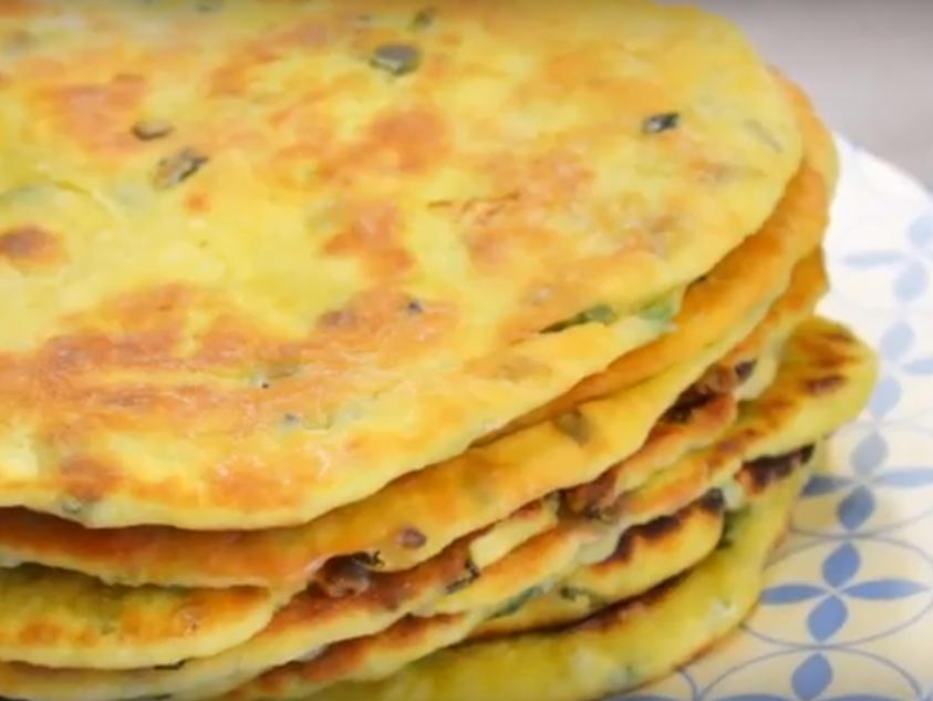 """Индийские лепёшки """"Бхатури"""" очень вкусные"""