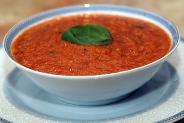 Обалденный томатный суп-пюре из 5 ингредиентов