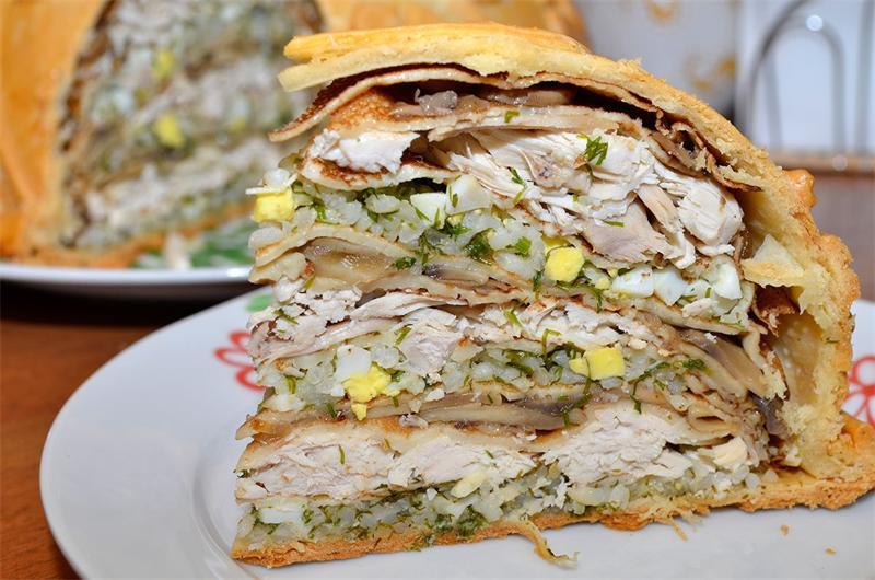 Восхитительный традиционный курник