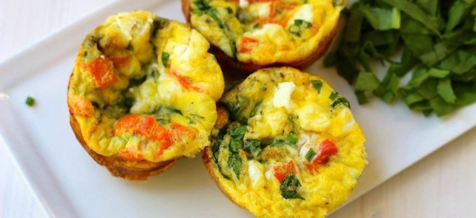 """Завтрак, который можно взять с собой """"Мини - фриттата"""""""