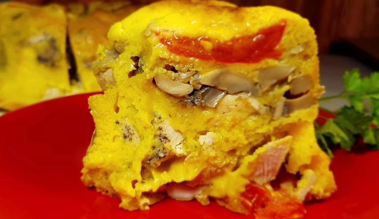 Безумно вкусный пирог с мясом и грибами: для любимого мужа