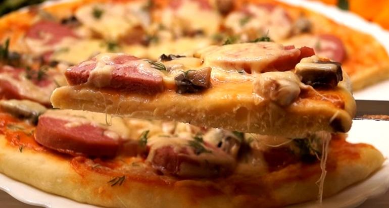 Экспресс пирог «Палочка-выручалочка»: быстрая пицца в микроволновой печи