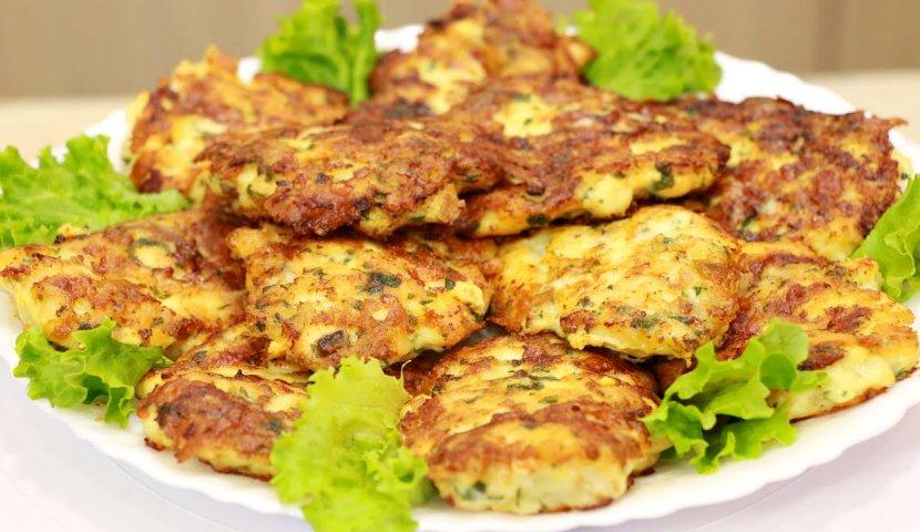 Очень вкусные и ароматные куриные котлеты с сыром и зеленью