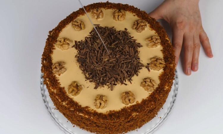 """Обалденный медовый торт """"Домашний"""""""