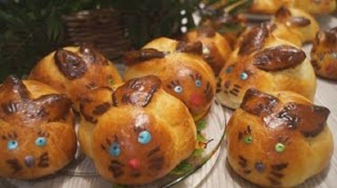 Самые лучшие булочки «Зайчики»