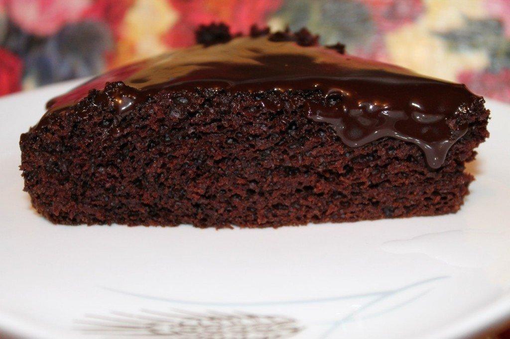 Домашний шоколадный пирог: вкусный и нежный