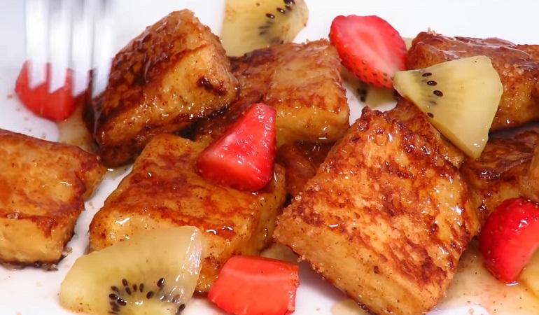 Сладкие гренки малютки: вкусный завтрак на скорую руку