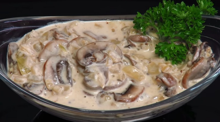 Сливочный соус с грибами: простой рецепт вкусного соуса