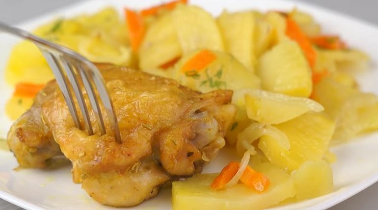 Супер вкусная картошка с мясом в духовке: три рецепта приготовления