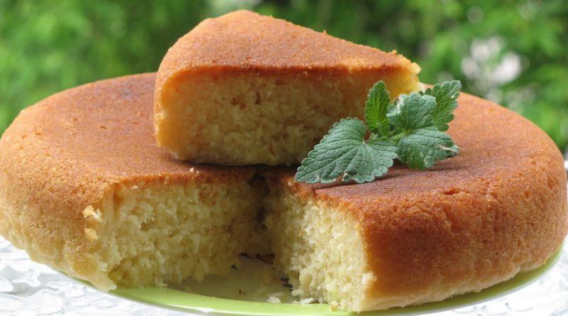Очень вкусный десерт - манник на кефире