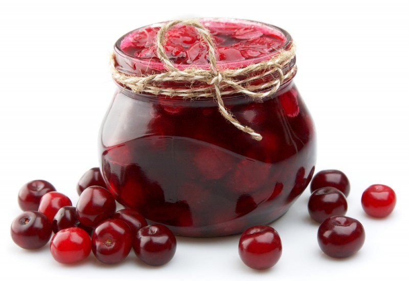"Варенье ""Пятиминутка"" из вишни"