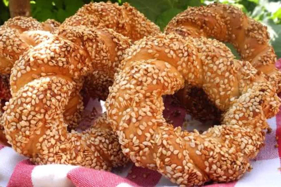 "Турецкие бублики ""Симит"" на завтрак"