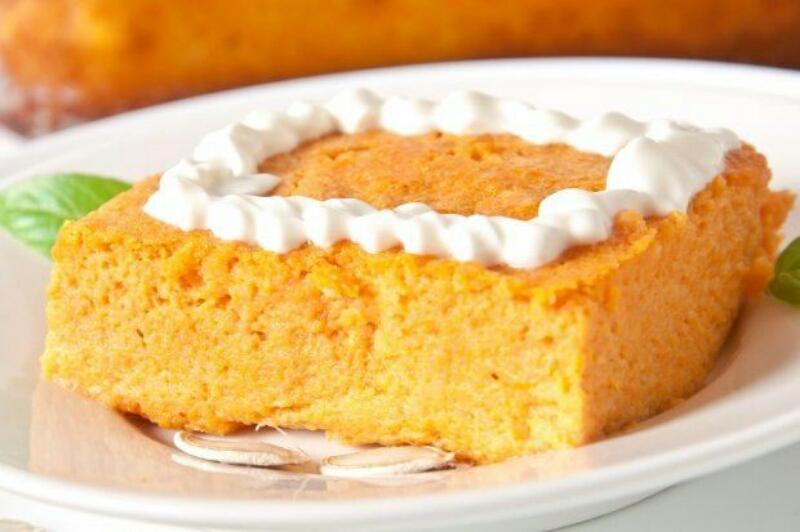 Идеальный десерт: морковно-творожный пудинг