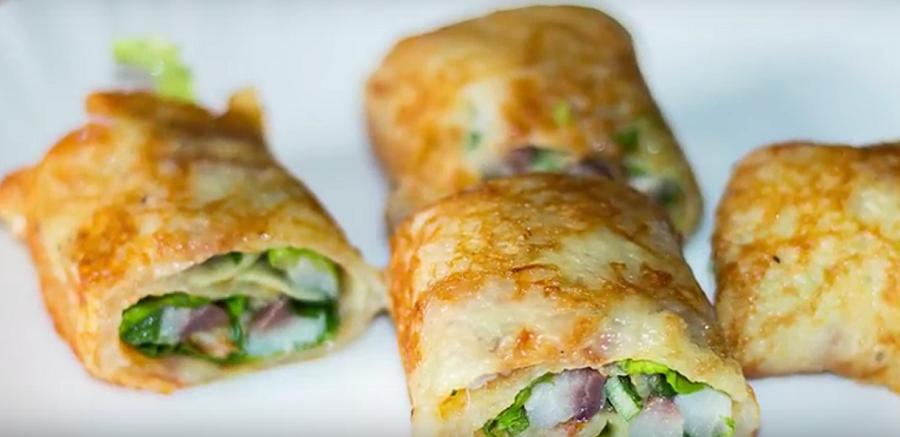Картофельные роллы с селедкой - невероятно вкусное блюдо