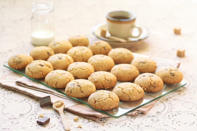 Необычайное арахисовое печенье на скорую руку