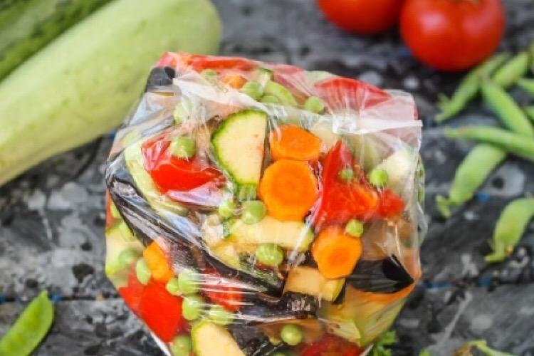 Заморозка на зиму для овощного рагу
