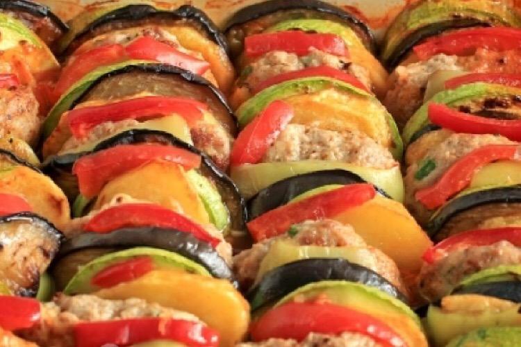 Потрясающе вкусный рататуй по-турецки