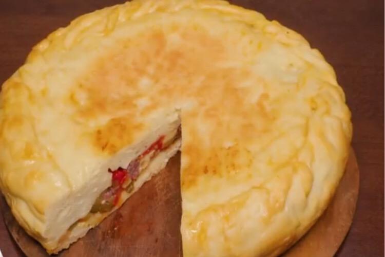 Готовим в мультиварке: обалденный закрытый пирог-пицца