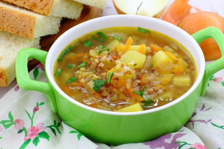 Потрясающий суп с гречкой и куриным фаршем