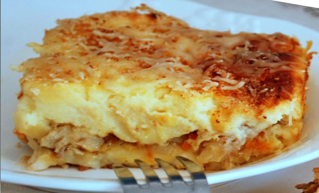 Идеальный обед: картофельная запеканка с рыбкой