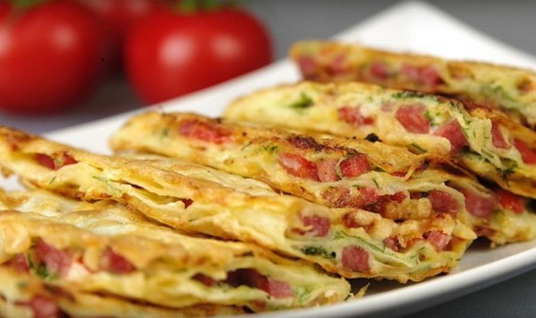 Слоеная закуска из лаваша: лучший рецепт быстрого блюда