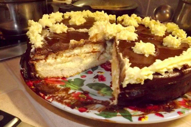 Очень вкусный торт «Чародейка»: для настоящих сладкоежек