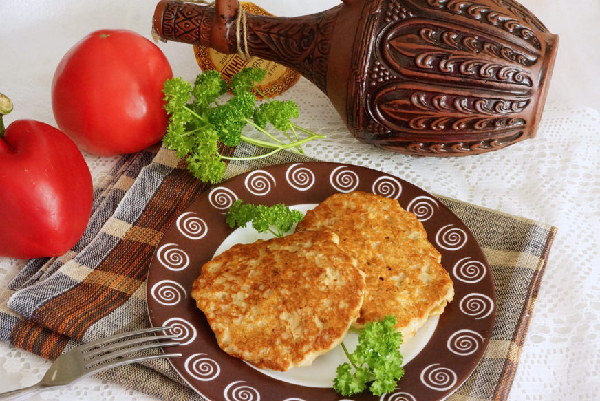 Очень необычная лепешка из тунца: готовим на перекус или к завтраку