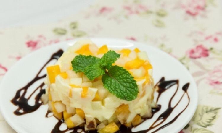 Восхитительный фруктовый десерт, который не оставит равнодушным никого