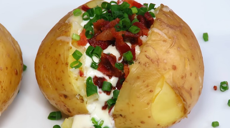 Обалденная картошечка за 10 минут: если у вас мало времени