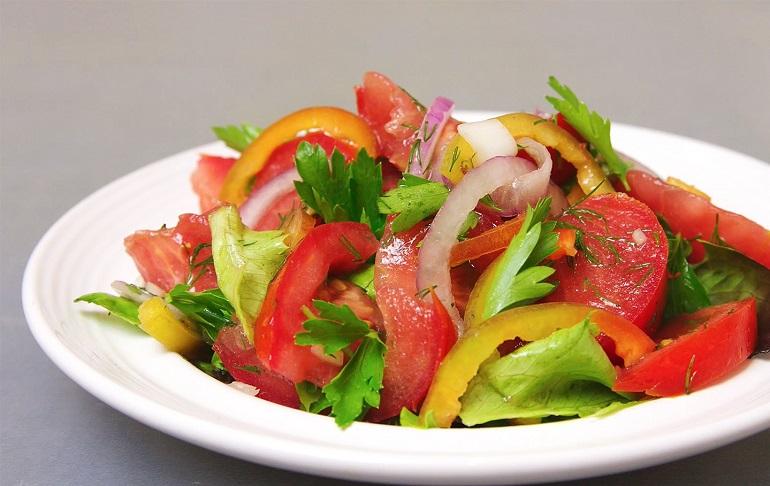 Овощной салат быстрого поедания: все дело в заправке