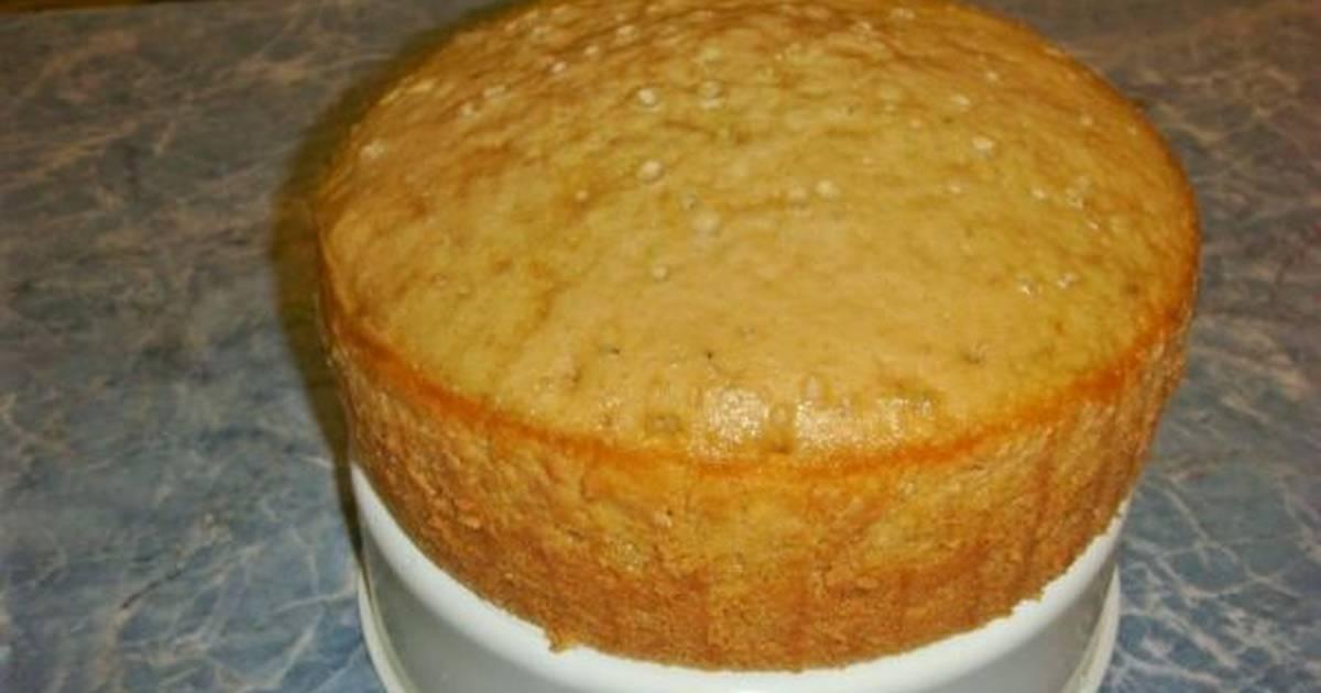 Простой и вкусный бисквит на...лимонаде (готовим в мультиварке)
