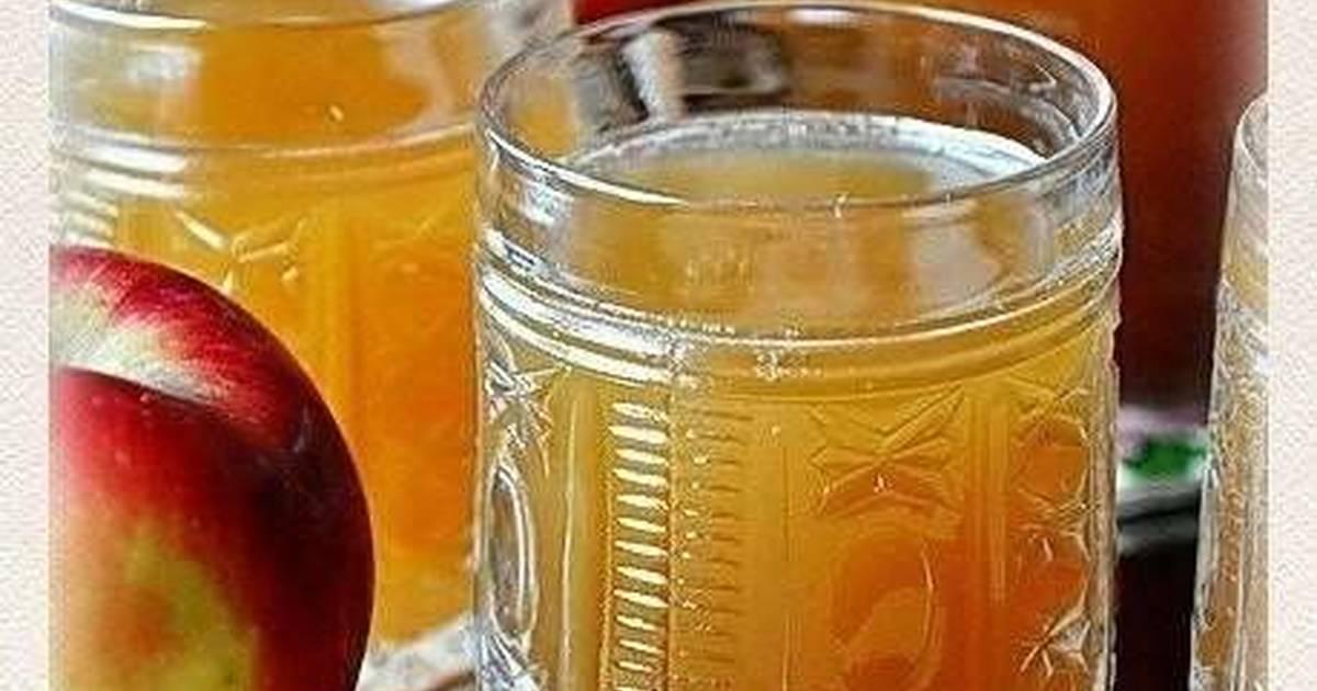 Очень вкусный и оригинальный квас с яблочным соком