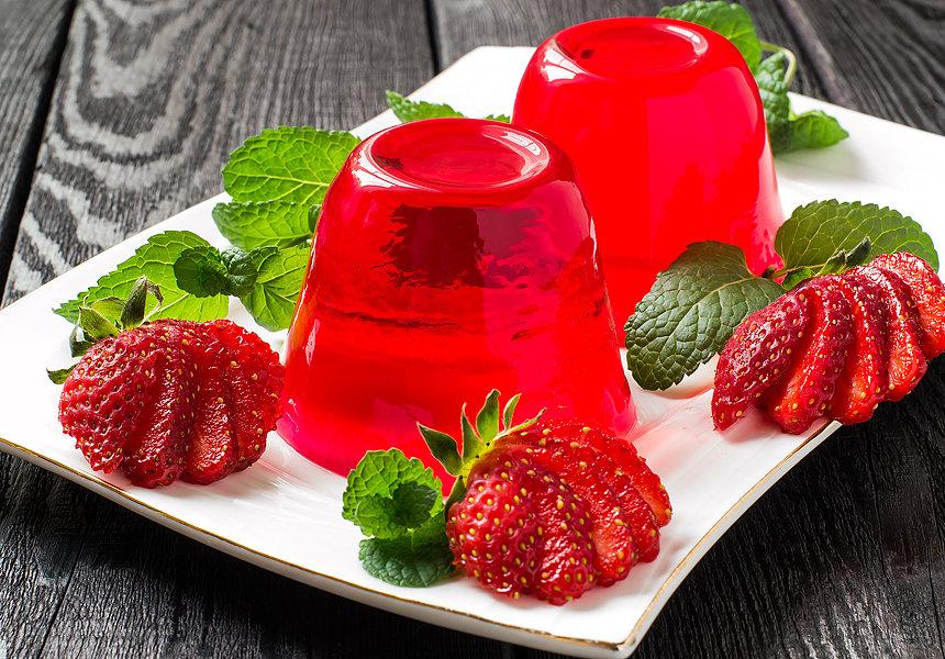 Низкокалорийный десерт: фруктовое желе
