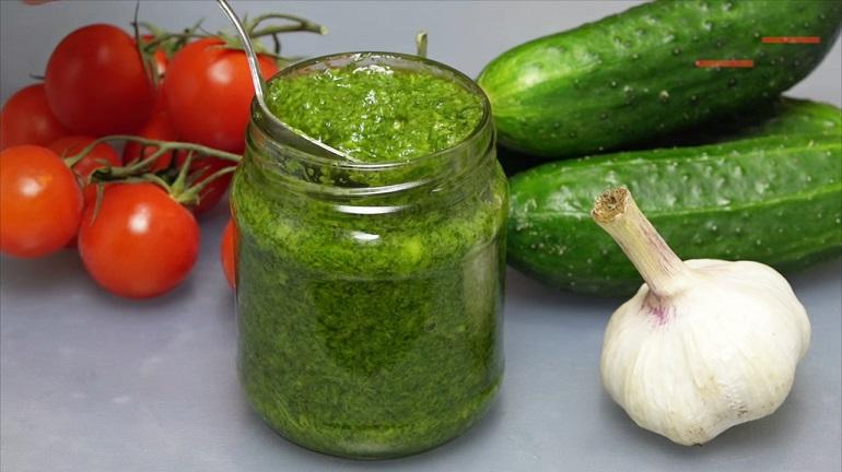 Укропный соус на зиму: универсальная приправа для любого блюда