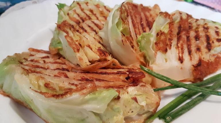 Вкусный шницель из капусты: быстро, просто и легко