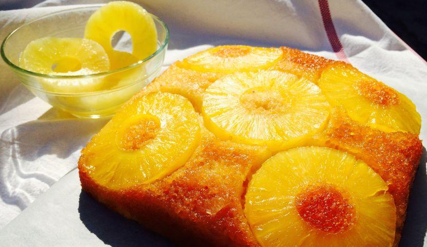 Восхитительный ананасовый пирог