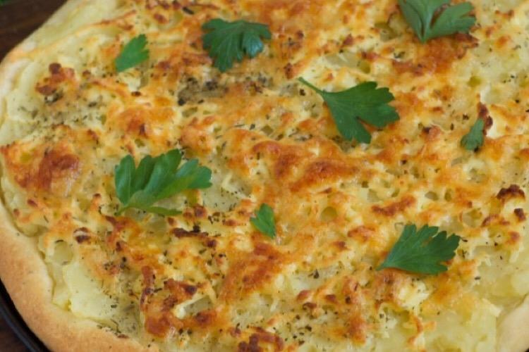 Обалденная пицца с картофелем
