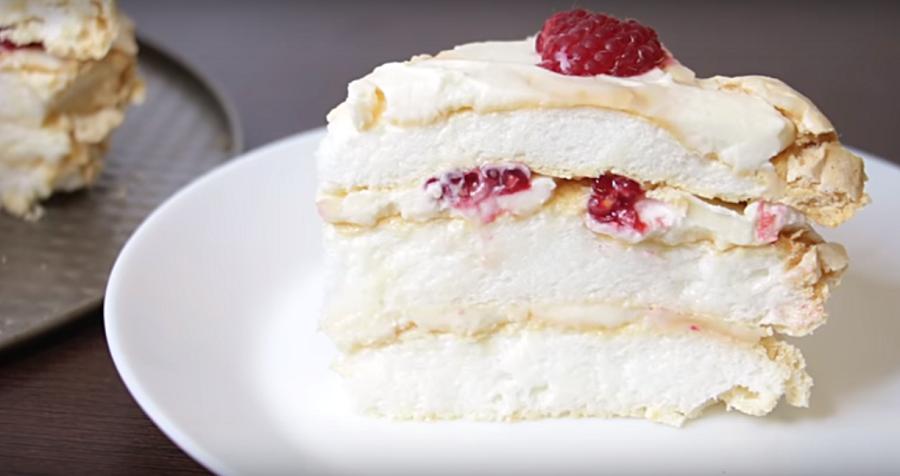 Торт без муки - вкусный и легкий