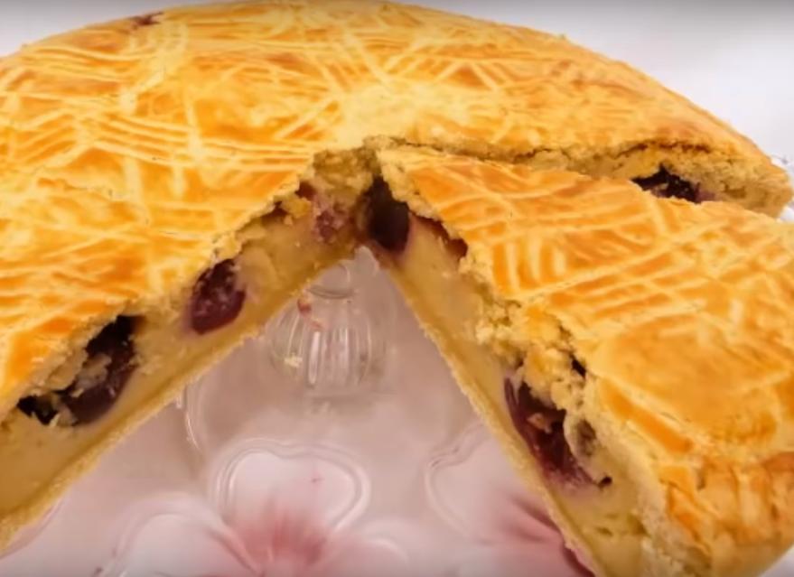 Баскский пирог с черешней (вишней). Зажмурься от удовольствия