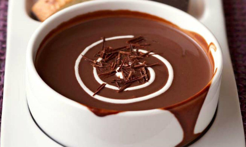 """Десертный супчик """"Шоколадная радость"""""""