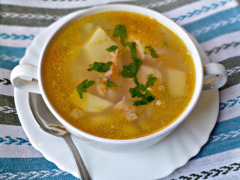 Уха из камбалы: вкусное блюдо к обеду
